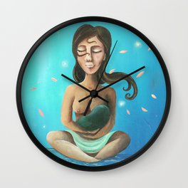 A Mother's Love Wall Clock