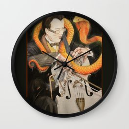 The Puppet and the Rhythm Wall Clock