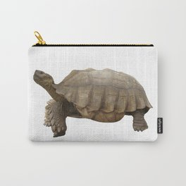 Sulcata Tortoise (side view) Carry-All Pouch