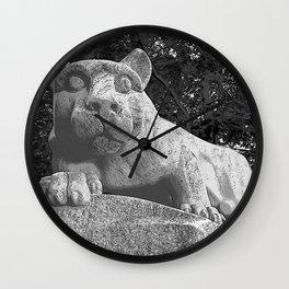 Penn State University Nittany Lion Print Wall Clock