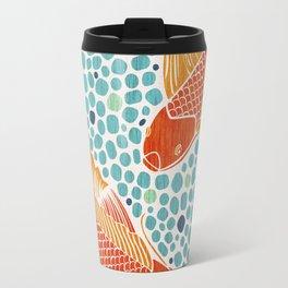 Finn & Fishette - Koi Fish Pond Travel Mug