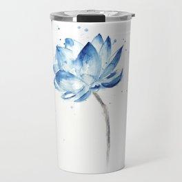 Happy Lotus Travel Mug