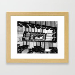 Stairs to even Framed Art Print