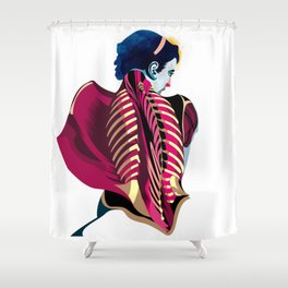 Anatomy 07a Shower Curtain
