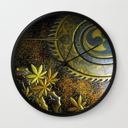 Sheild Wall Clock