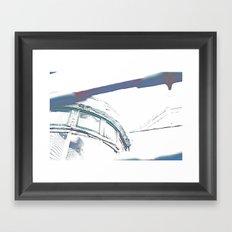 Sunlit Abandoned Framed Art Print