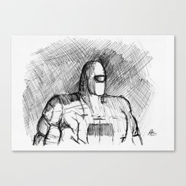 Warbot Sketch #012 Canvas Print