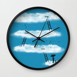 Conquer the Sky Wall Clock