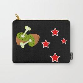 Kiwi Fruit New Zealand Flag Carry-All Pouch