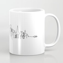 San Francisco Skyline Drawing Coffee Mug