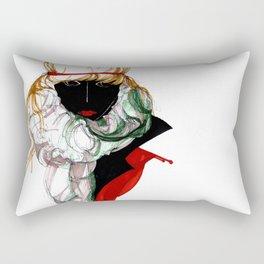 BLACK SPIRITED Rectangular Pillow