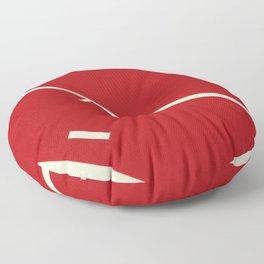 Running Track Floor Pillow