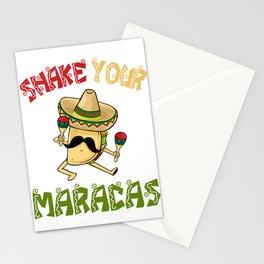 Shake Your Maracas - Cinco De Mayo Stationery Cards