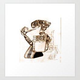 WALL-ace Art Print