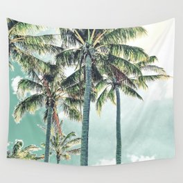 Under the palms Wall Tapestry