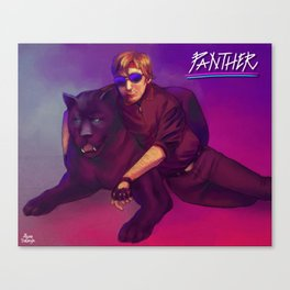 Panthers Canvas Print