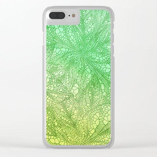 Leaf Skeletons #6 Clear iPhone Case
