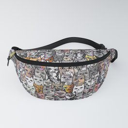 Gemstone Cats Gold Fanny Pack