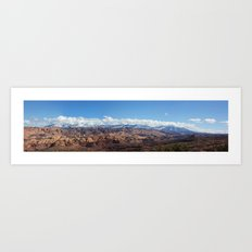 Ahab's Panorama Art Print