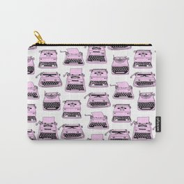 PINK TYPEWRITERS Carry-All Pouch