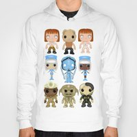 fifth element Hoodies featuring The Fifth Element Customs by SpaceWaffle