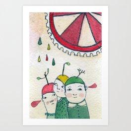 Amis Art Print