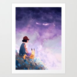 The First Movie Art Print