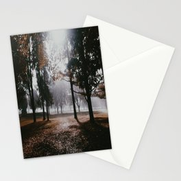 Darkness looms Stationery Cards
