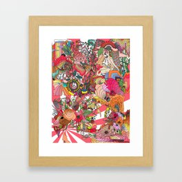 Of the Hare Meadow Framed Art Print