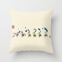 Capoeira 456 Throw Pillow