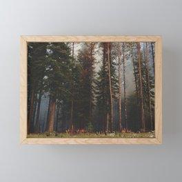 Oregon Forest Control Fire Framed Mini Art Print