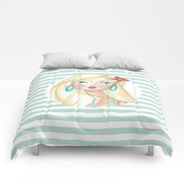 Frangipane Girl Comforters