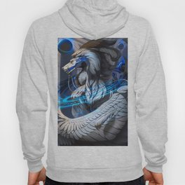 Dragon - The silver king Hoody