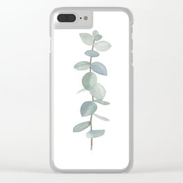 Eucalyptus Sprig Clear iPhone Case