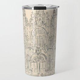 Cathedral of Santiago De Compostela Travel Mug