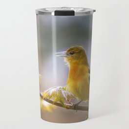 Lady Oriole Travel Mug