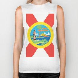 Florida State Flag Biker Tank