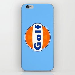 Golf Gulf Style iPhone Skin