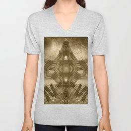 """Outsteller Exploration of Interspace"", by Brock Springstead Unisex V-Neck"