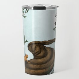Ratatosk and the Eagle Travel Mug