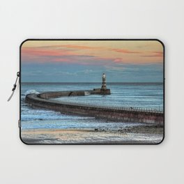Roker Pier and Lighthouse Laptop Sleeve