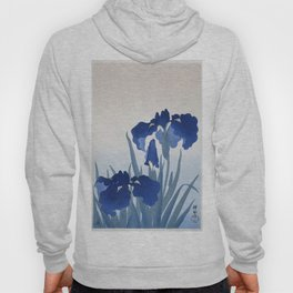 Iris flowers (1925 - 1936) by Ohara Koson (1877-1945) Hoody