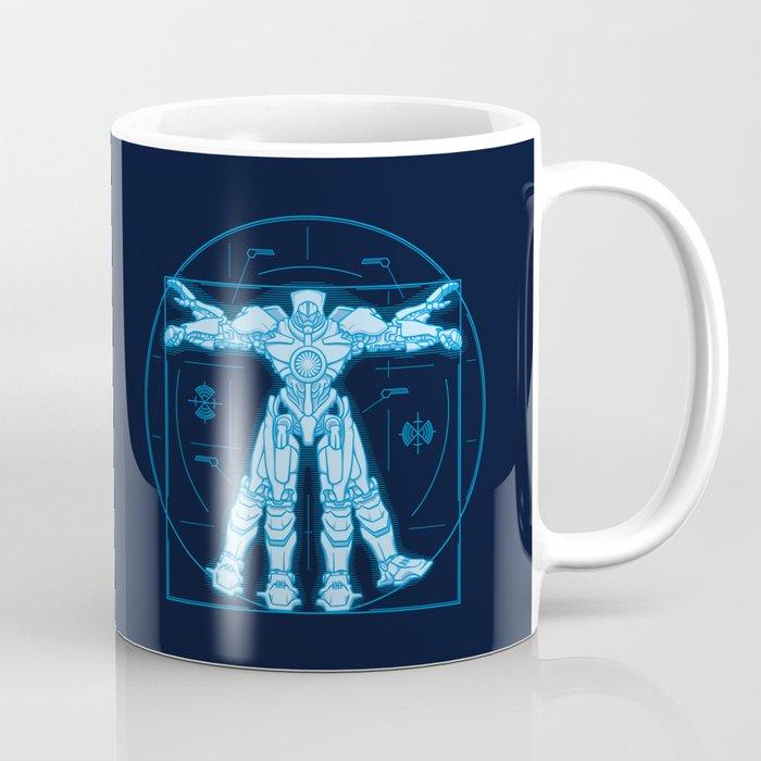 Vitruvian Jaeger Coffee Mug