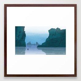 Sea of Æsir Framed Art Print