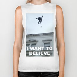 I Want to Believe in Sherlock Holmes Biker Tank