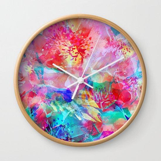 The Taste of Summer Wall Clock