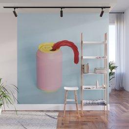 Licorice straw Wall Mural