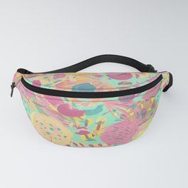Abstract Fruit Fanny Pack