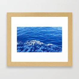 Maltese Sea Framed Art Print