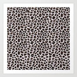 Leopard Animal Print Art Print